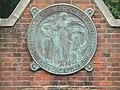 Stanmore, RNOH emblem on gates - geograph.org.uk - 491197.jpg