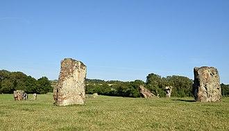 Stanton Drew stone circles - Image: Stanton Drew stone circle, Somerset