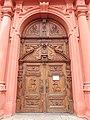 Stará Boleslav, kostel Nanebevzetí Panny Marie, dveře.jpg