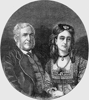 Separation of Queensland - Sir George Ferguson Bowen and Lady Diamantina Bowen