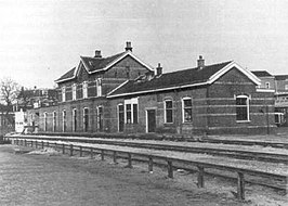 Station Noord of GOLS in 1980