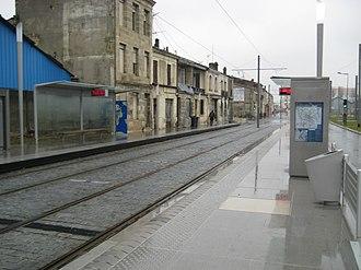 Station Rue Achard (Tram de Bordeaux) - Station Rue Achard