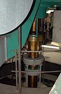 Staustufe Griesheim-Welle Turbine