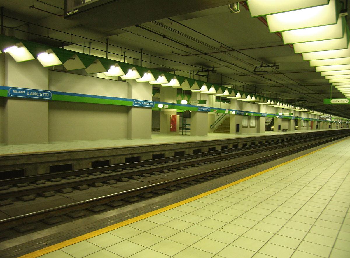 Stazione di milano lancetti wikipedia - Passante porta garibaldi ...