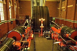 Trencherfield Mill - Mill engine