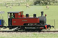 Steam engine at Whipsnade Zoo, Bedfordshire, England-12April2012.jpg