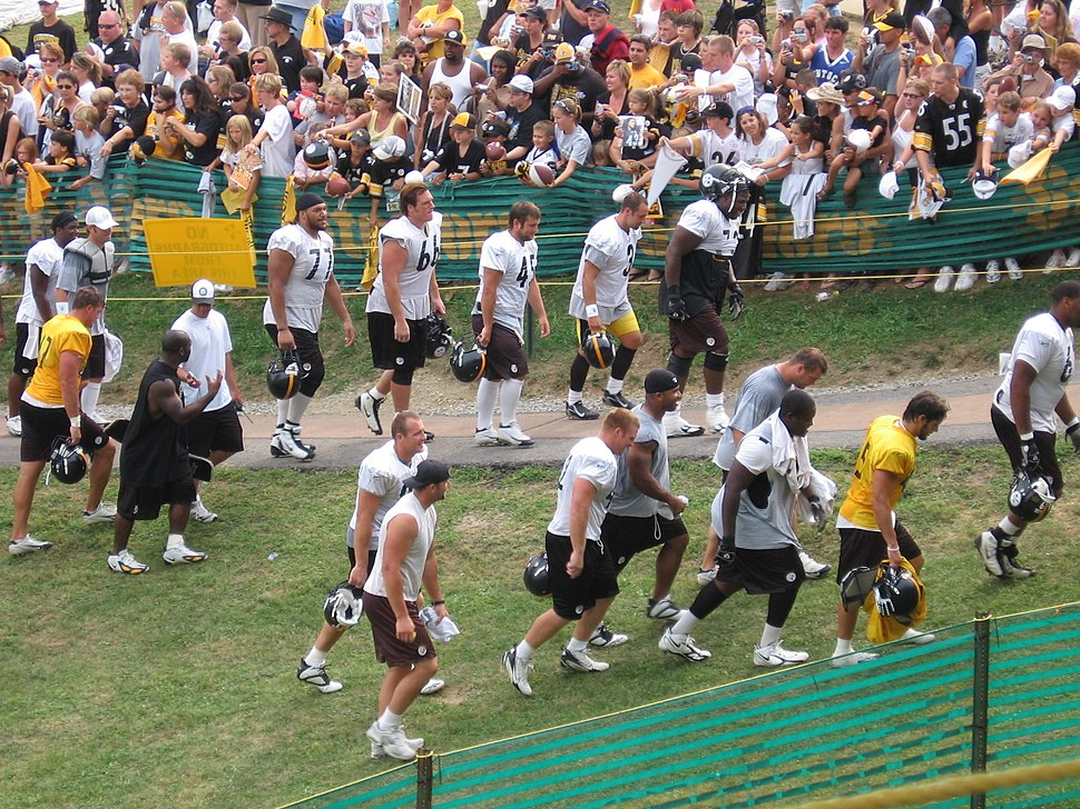 Steelerstrainingcamp