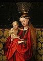 Stefan lochner, madonna incoronata da angeli, colonia 1450 ca. 02.jpg