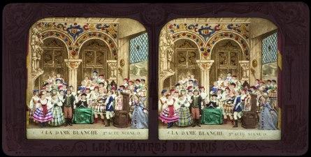 Stereokort, La Dame blanche 4, acte II, scène IV - SMV - S164b.tif