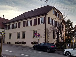 Kirchstraße in Kernen im Remstal