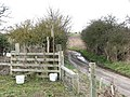 Stile taking path from Limpenhoe Common to Reedham Road - geograph.org.uk - 1751549.jpg