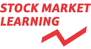 English: Stock Market Learning - Logo
