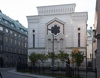 Fredrik Wilhelm Scholander - Image: Stockholms synagoga 2010