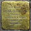 Stolperstein.Mahlsdorf.Lemkestraße 156.Maria Guthmann.4302.jpg