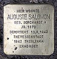 Stolperstein Elberfelder Str 9 (Moabi) Auguste Salomon.jpg