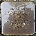 Stolperstein Goch Voßstraße 17 Max Jacobsohn.jpg