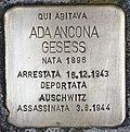 Stolperstein für Ada Ancona Gesess (Padua).jpg