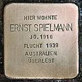 Stolperstein für Ernst Spielmann.JPG