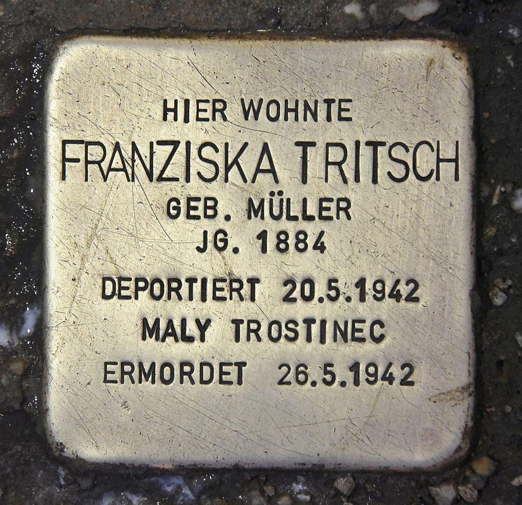Stolperstein für Franziska Tritsch 2.JPG