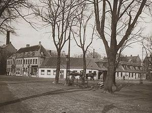 Vibenshus Runddel - Store Vibenshus, corner of Jagtvej and Lyngbyvej, 1910sRunddel