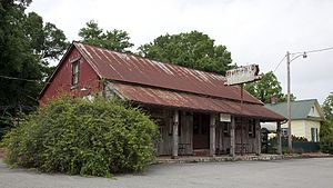 Mooresville, Alabama - Store and restaurant in Mooresville, 2010