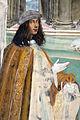 Storie di s. benedetto, 03 sodoma - Come Benedetto risalda lo capistero che si era rotto 06 autoritratto.JPG