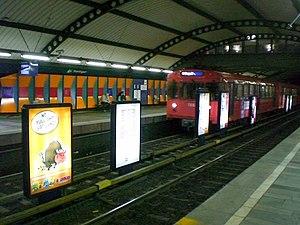 Stortinget (station) - Image: Stortinget stasjon 2