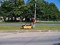 Strašnice, Průběžná, rekonstrukce TT (02).jpg