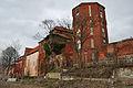 Stralsund, Am Kütertor 1, Turm, und Kampischer Hof (2012-04-10), by Klugschnacker in Wikipedia.jpg
