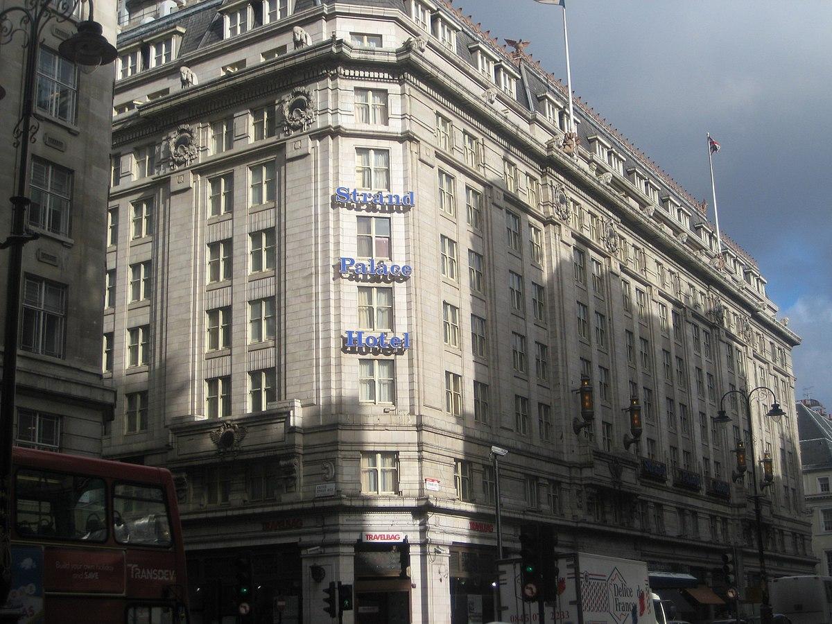 strand palace hotel wikipedia