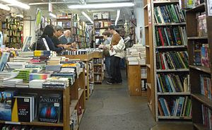 Strand Bookstore - The Strand's basement holds its collection of review copies of recently published books