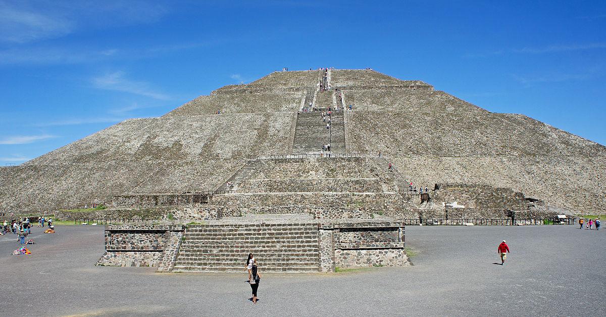 Resultado de imagen para piramide del sol