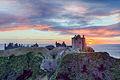 Sunrise at Dunnottar Castle (102916).jpg