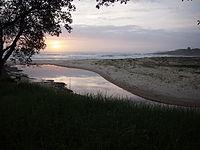 Sunrise over Cormorant Beach, Bawley Point
