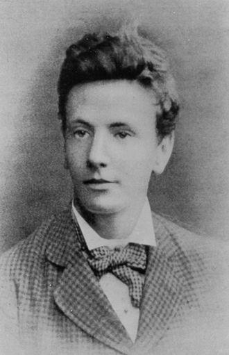 William Sutherland (physicist) - Sutherland in his twentieth year