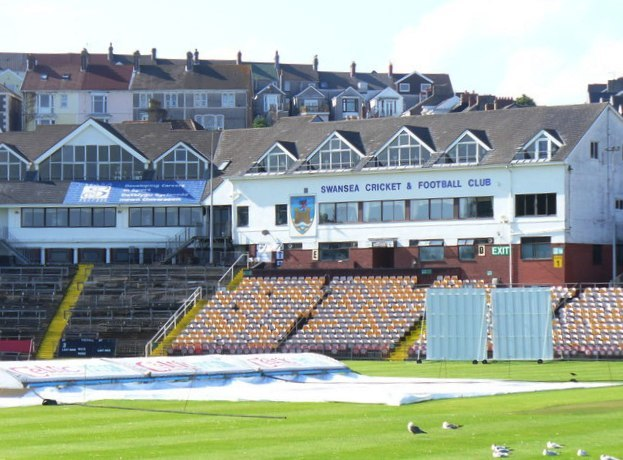 Swansea Cricket and Football Club - geograph.org.uk - 1485873