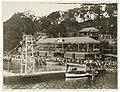 Swimming carnival, Roseville Baths, c. 1930s, by Sam Hood (5205006507).jpg