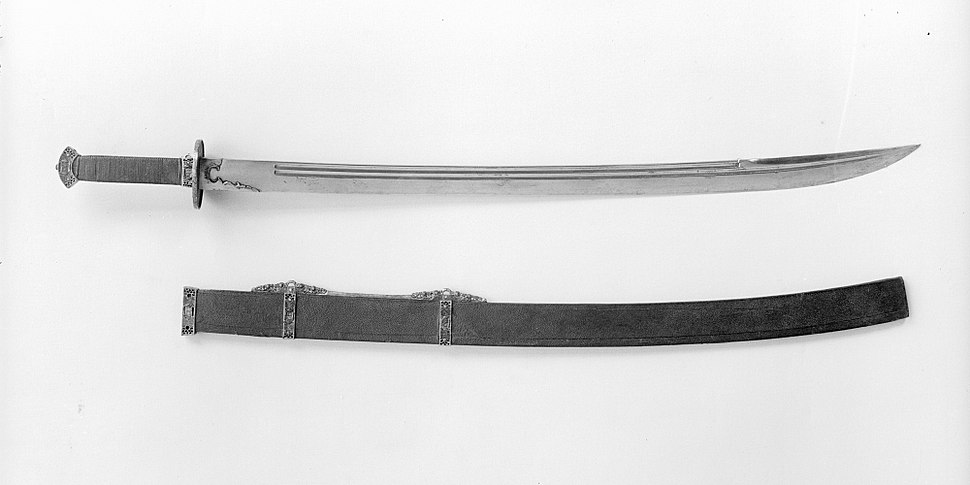 Sword with Scabbard MET 21123 - cropped