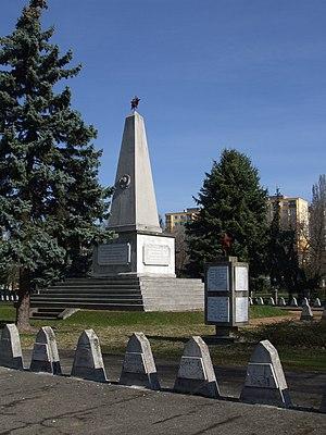Operation Spring Awakening - Soviet memorial today in Székesfehérvár