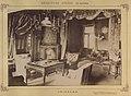 Tóalmás, Beretvás Endre kastélya (Andrássy-kastély), úriszoba. A felvétel 1895-1899 között - Fortepan 83341.jpg