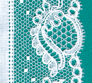 Tønder Municipality - An example of a traditional Tønder lace (Tønderknipling)