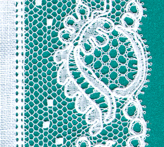 type of bobbin lace from Denmark