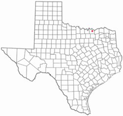 Location of Knollwood, Texas
