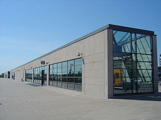 railway station in Tårnby Municipality, Denmark