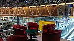 Tables and chairs in The Lawn, Paddington Station, London.jpg