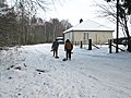 Taking stones to the loch - geograph.org.uk - 1655065.jpg
