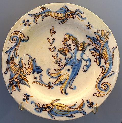 File Talavera Plate Ceramic Museo Nacional De Artes