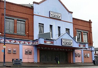 Tameside Hippodrome theatre and former cinema in Ashton-under-Lyne, Greater Manchester, England