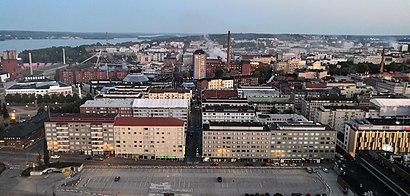 Vägbeskrivningar till Tampere med kollektivtrafik