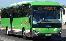 dbb307cd5b Nuevo autobús de Tata Hispano del modelo Intea en Getafe